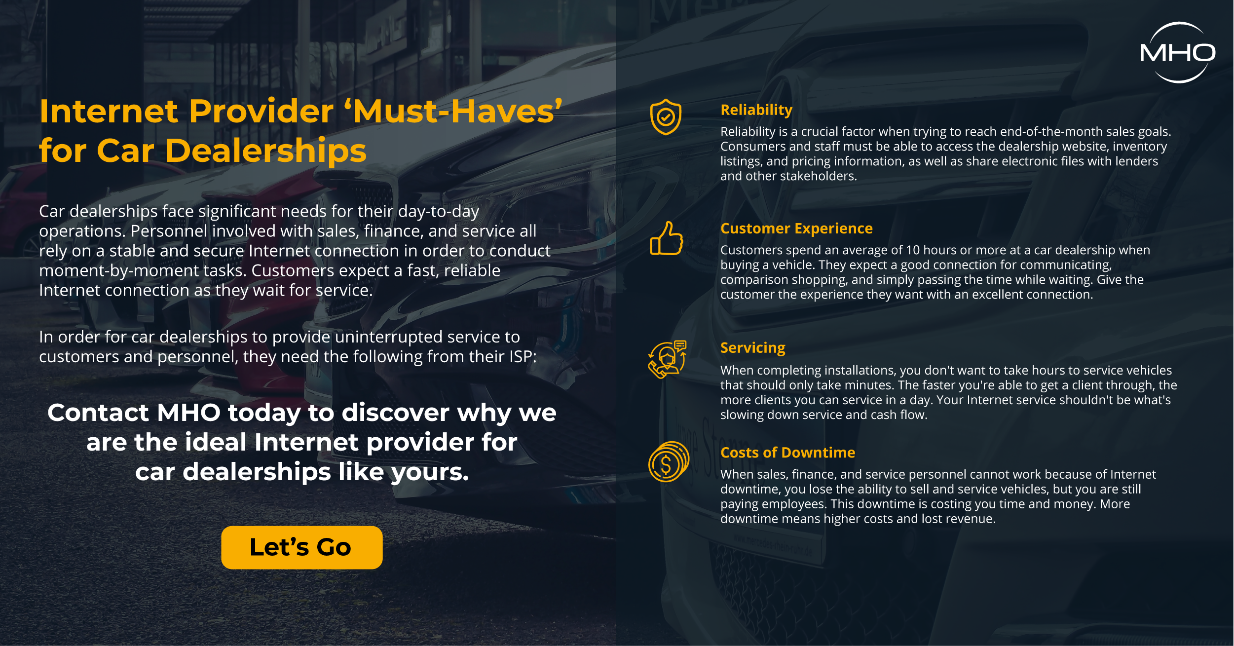 MHO-Automobile Dealership Infographic