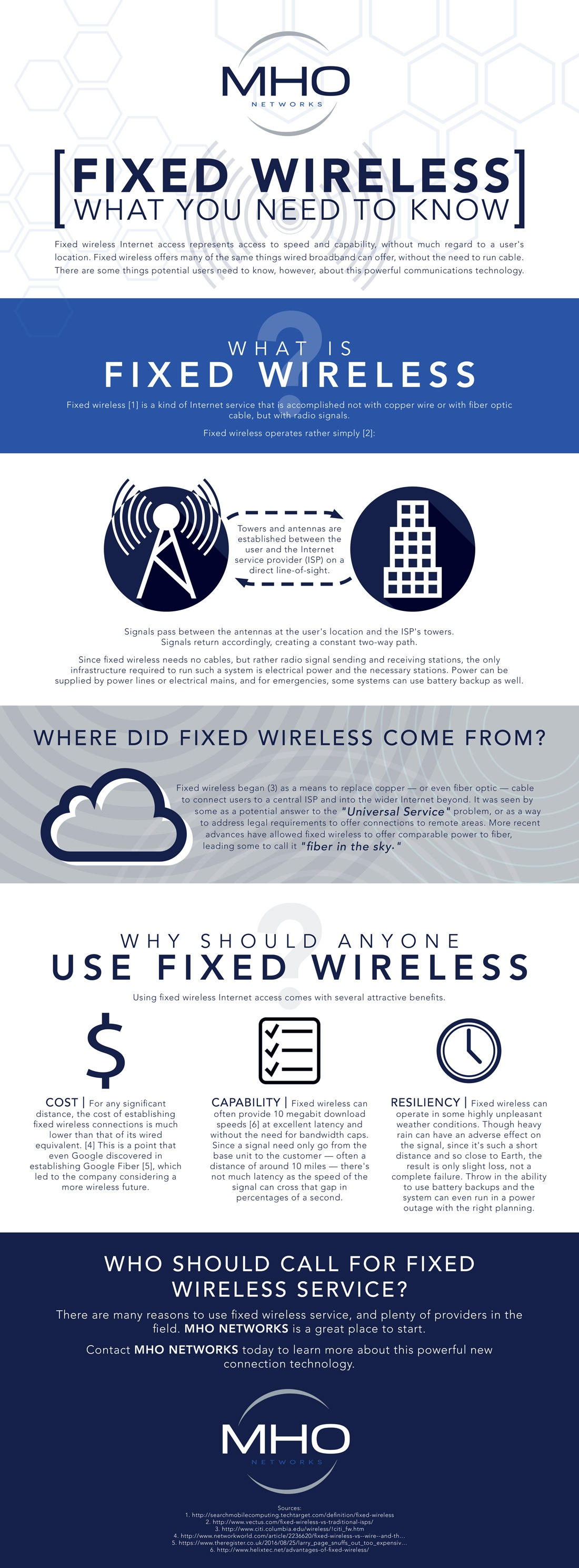 Fixed wireless may be the Internet connectivity solution your business needs.